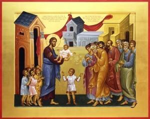 Jesus und Kinder